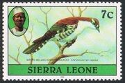 Sierra Leone 1982 Birds from 1980 Imprint 1982 e