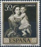 Spain 1960 Painters - Bartolomé Esteban Murillo c
