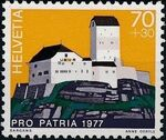 Switzerland 1977 PRO PATRIA - Castles c