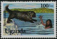 Uganda 1993 Dogs b