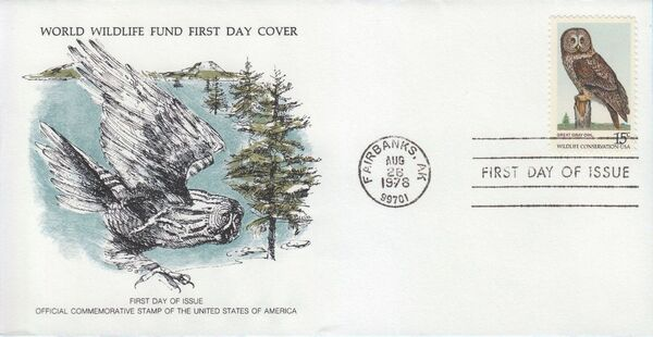 United States of America 1978 Wildlife Conservation Issue FDCa