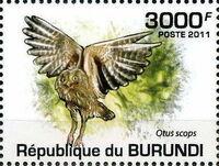 Burundi 2011 Owls of Burundi d