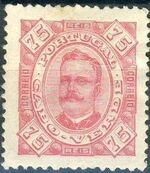 Cape Verde 1893-1895 Carlos I of Portugal h