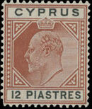 Cyprus 1906 King Edward VII b