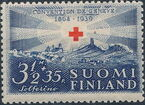 Finland 1939 75th Anniversary of the International Red Cross Society d