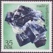 Germany DDR 1972 Minerals Found in East Germany e