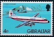 Gibraltar 1982 Airplanes d