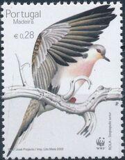 Madeira 2002 WWF Birds from Madeira c