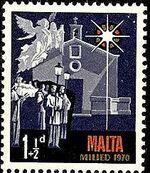 Malta 1970 Christmas a