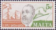 Malta 1974 Centenary of Universal Postal Union b