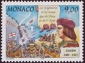 Monaco 1997 700th Anniversary of the Grimaldi Dynasty - 1st Serie i