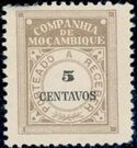 Mozambique Company 1916 Postage Due Stamps e