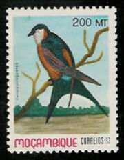 Sg1330 Birds of Mocambique (Fourth Issue) 1992 R525
