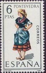 Spain 1970 Regional Costumes Issue b