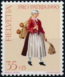 Switzerland 1990 PRO PATRIA - Street criers a
