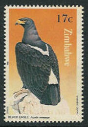 Zimbabwe 1984 Birds of prey d