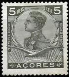 Azores 1910 D. Manuel II b