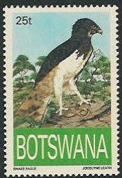 Botswana 1993 Endangered eagles b