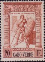 Cape Verde 1938 Portuguese Colonial Empire p