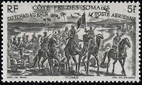 French Somali Coast 1946 Chad to Rhine a