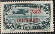 Latakia 1931 Air Post Stamps of Syria 1931 Overprinted f