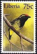 Liberia 1997 Birds l