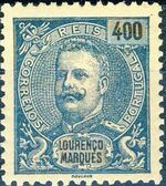 Lourenço Marques 1903 D. Carlos I New Values and Colors h