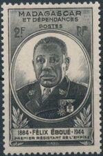 Madagascar 1945 Felix Eboue a