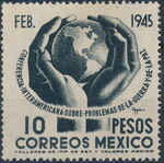 Mexico 1945 Inter-American Conference (Regular Mail) d