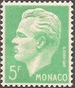 Monaco 1951 Prince Rainier III a