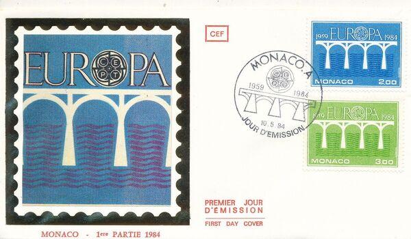 Monaco 1984 Europa fa