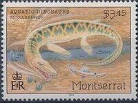Montserrat 1994 Aquatic Dinosaurs d