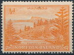 Norfolk Island 1947 Ball Bay - Definitives a