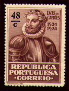 Portugal 1924 400th Birth Anniversary of Camões o