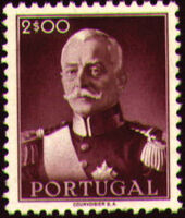 Portugal 1945 President Carmona g