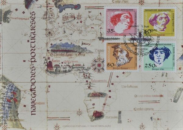 Portugal 1991 Portuguese navigators (2nd Issue) FDCa