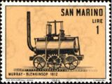 San Marino 1964 History of Locomotive