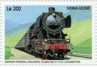 Sierra Leone 1995 Railways of the World ga