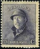 Belgium 1919 King Albert in Trench Helmet e