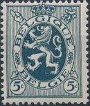 Belgium 1929 Arms - Heraldic Lion c