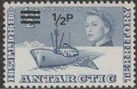 British Antarctic Territory 1971 Definitives Decimal Currency a