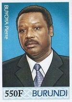 Burundi 2012 Presidents of Burundi - Pierre Buyoya f