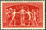 France 1949 75th Anniversary of UPU b