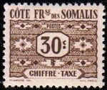 French Somali Coast 1947 Postage Due Stamps b
