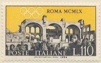 Italy 1959 Olympic Games in Rome 1960 f