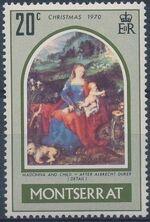Montserrat 1970 Christmas c