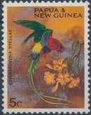 Papua New Guinea 1967 Parrots a
