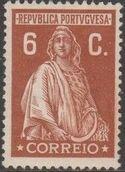 Portugal 1926 Ceres (London Issue) e