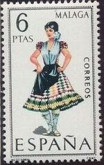 Spain 1969 Regional Costumes Issue h