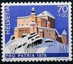 Switzerland 1978 PRO PATRIA - Castles c